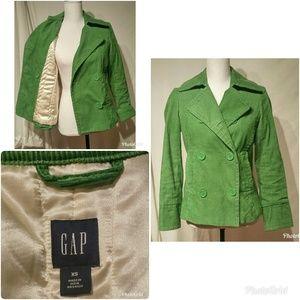 Adorable Green Corduroy Gap Jacket Coat XS