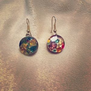 Multi-color earrings