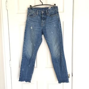 Levi's wedgie icon jeans in shade crisp winds