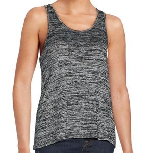 Rag & bone twist back heathered tank XS