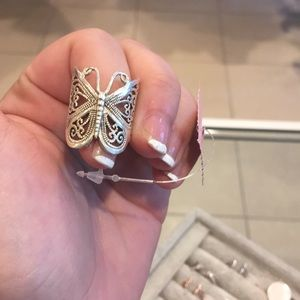 Sterling Butterfly Ring✨
