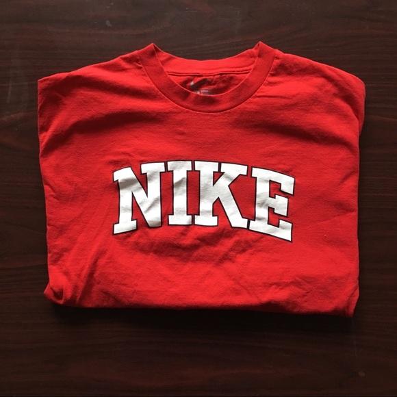 nike shirt font