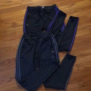 Bundle of TWO Adidas Joggers