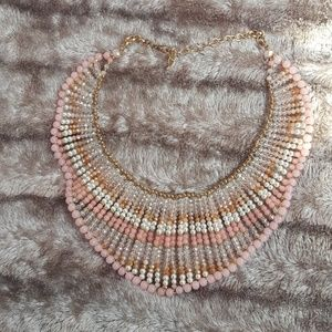 Jewelry - Peach pink necklace