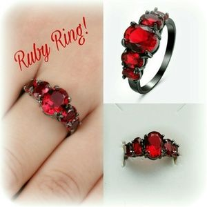Jewelry - New Beautiful Ruby Ring