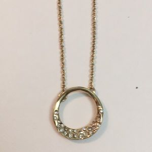 Stunning Alexis Bittar small gold necklace