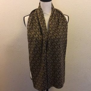Michael Kors Brown and tan Scarf! ~Authentic~