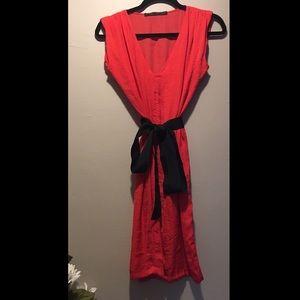 ZARA Red Dress Size S