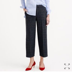 JCrew cOllection Harris tweed trouser pants slack