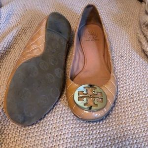 dcad7bc62d1243 ... Tory Burch Shoes - Tory Burch Quinn Quilted Leather Ballet Flat factory  outlets 6c429 7f337 ...