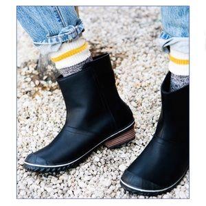 Sorely Navy Blue Slimboot Rain Boot