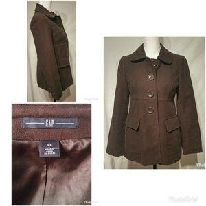 Adorable Gap Brown Jacket Coat XS