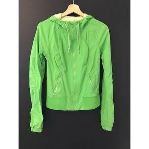 Jackets & Blazers - Lululemon Running Jacket - Lime Green