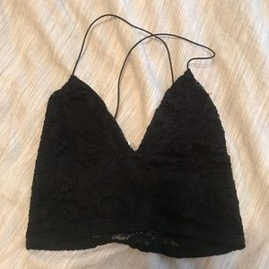 Urban Outfitters Lacy Crop Top