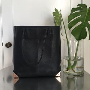 Alexander Wang Prisma Tote 2015 Black & Rose Gold