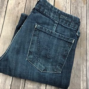 Citizens of Humanity Jeans Faye Wide Full Leg 27