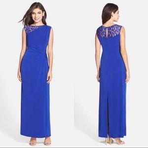 NWT Ellen Tracy blue dress sz 4