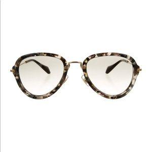 💯 Authentic Miu Miu marbled oversize Sunglasses