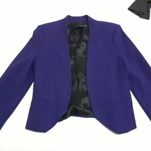 Zara purple/blue blazer