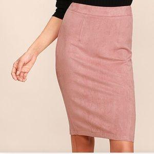 "True Vintage, "" Pink "" Secretary Skirt 🌸🎁"