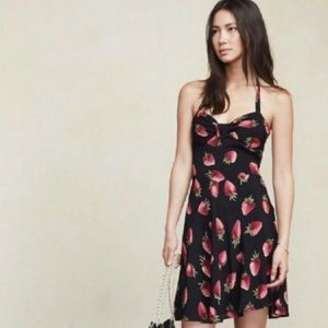 Reformation Strawberry dress