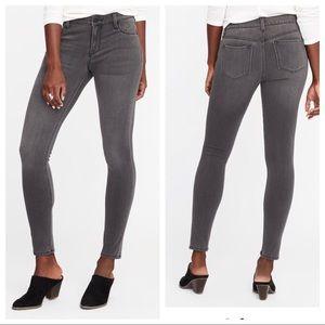 Old Navy Rockstar 24/7 Gray Jeans