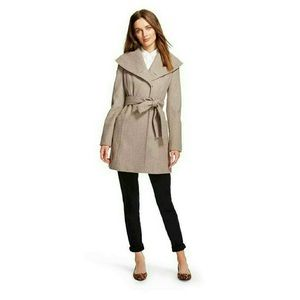 Shawl Collar Camel Wool Dresscoat