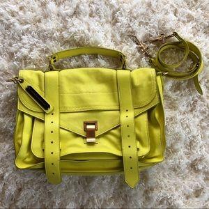 Proenza Schouler Ps1 Yellow/Lime Shoulder Bag