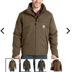 Men's Canyon Brown Carhartt Coat