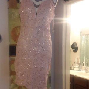 Super sexy sparkly dress