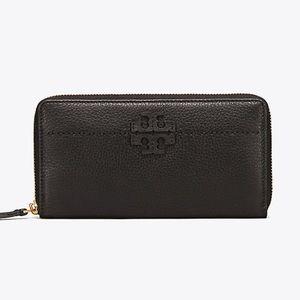 NIB Tory Burch Chelsea Zip Continental Wallet