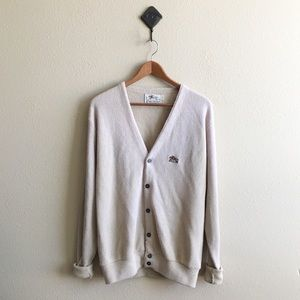 '70s / Bisque Cardigan
