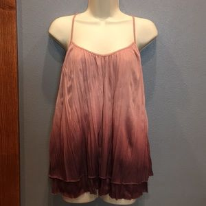 Womens anthropologie ombré top