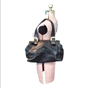 Michael Michael Kors Black Leather Purse