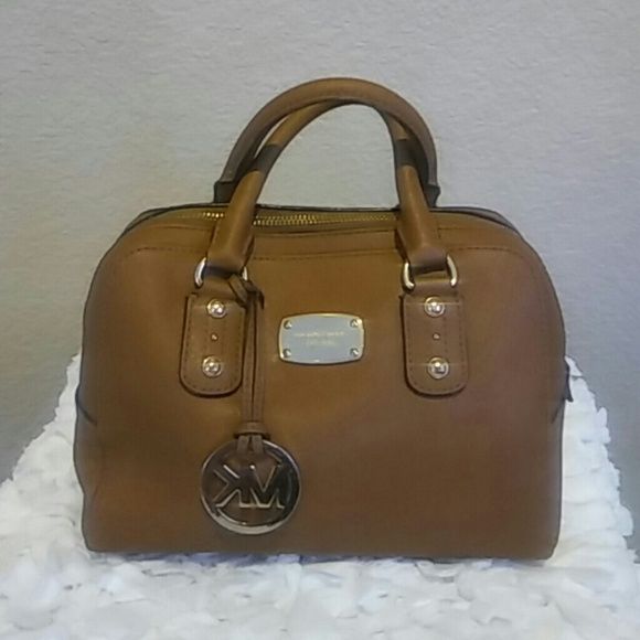 b672c1834505 Michael Kors Bags | Saffiano Leather Small Satchel Acorn | Poshmark