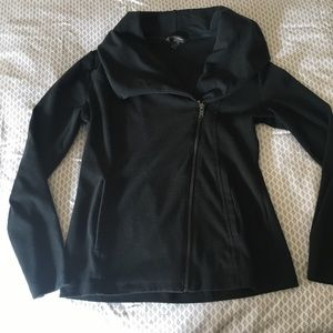 Banana Republic asymmetrical zip up