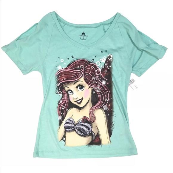 374369d5 Disney Tops   Parks Ariel Little Mermaid T Shirt Top Xs   Poshmark
