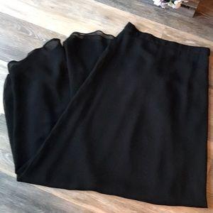 NWOT Naeem Khan Formal Skirt 100% silk, Small