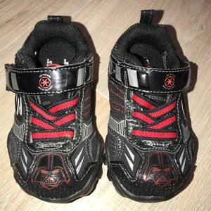 Light Up Darth Vader Skechers - Size 5