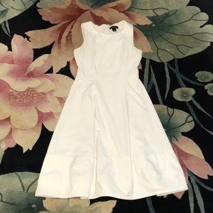 White House Black Market White Dress