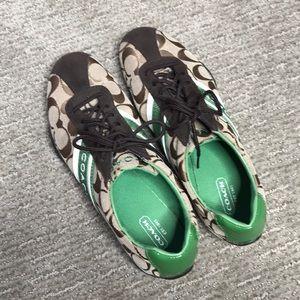 Coach Shoes - Authentic Coach Tennis Shoes Size 7.5