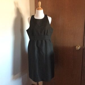 J. Crew Brown Sleeveless Dress