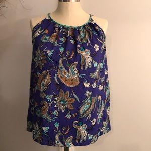LOFT-Halter neck tank blouse