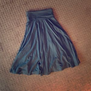 J.Crew Jersey Knit Skirt/Dress Size S