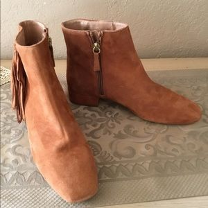 Free people spring in paris boot brandy sz.38 $45