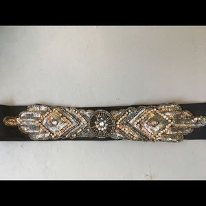 Urban Outfitters Art Deco inspired stretch belt