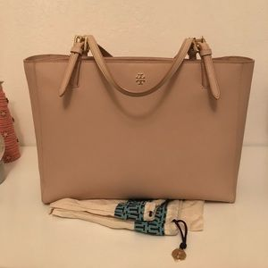 Tory Burch, York Saffiano Leather Tote