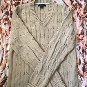 Express beige sweater size small