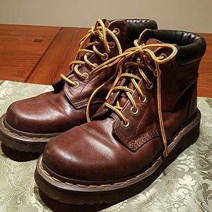Dr. Marten's Brown Leather Work Boots