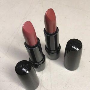 Lancome Pink Rose Lipstick Set New X2 fresh lip